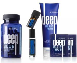 deep blue mit poyphenole